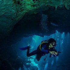 Buceo en Cavernas y Cuevas