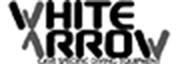 white-arrow-logo