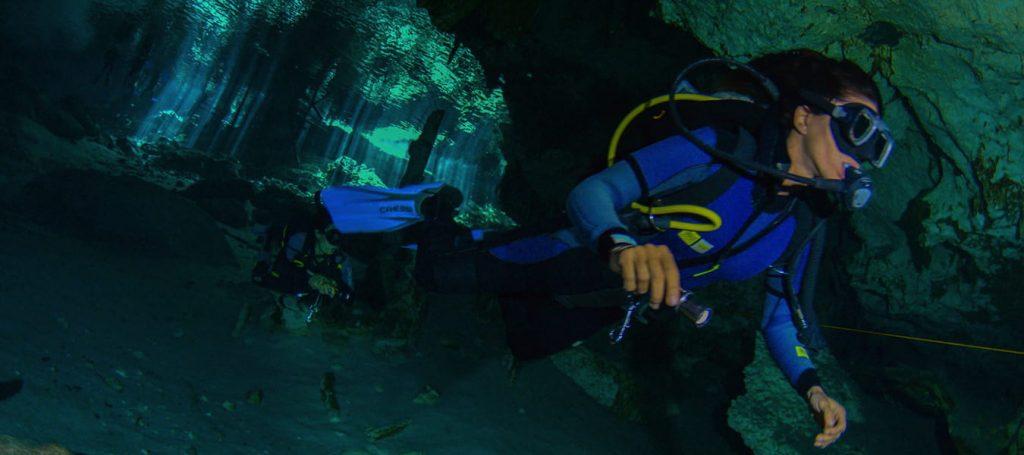 Buceo en Gran Cenote