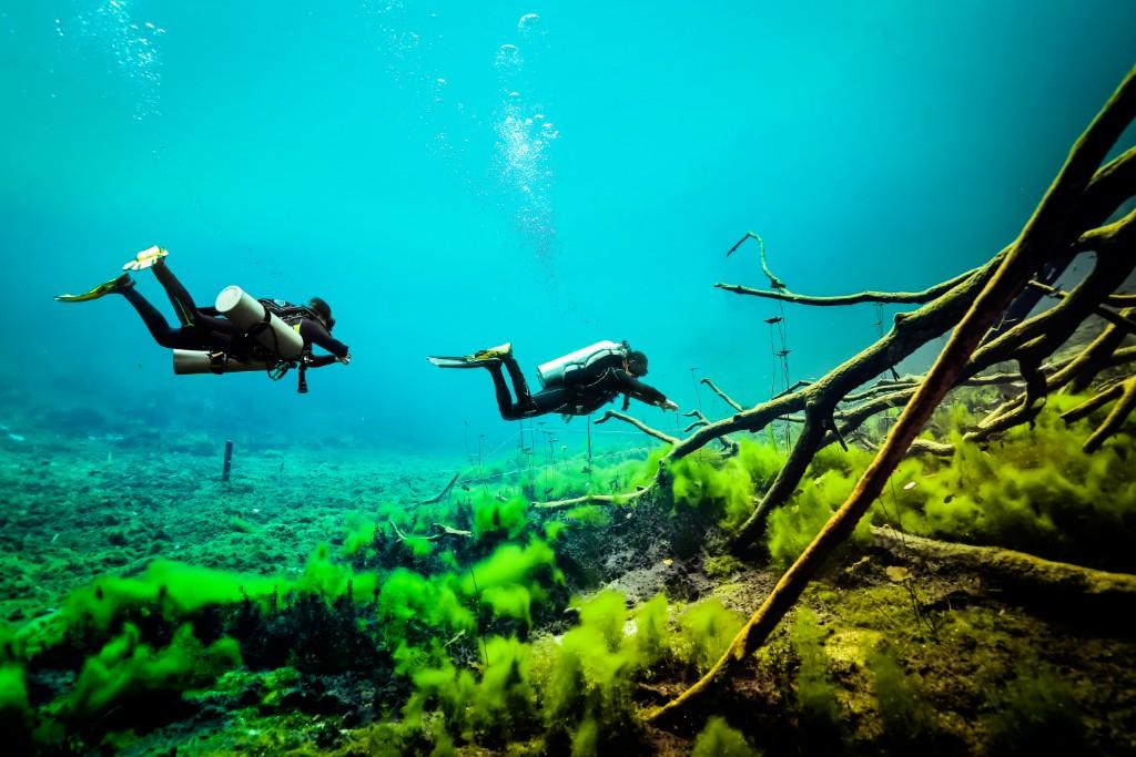 Cenote carwash photography