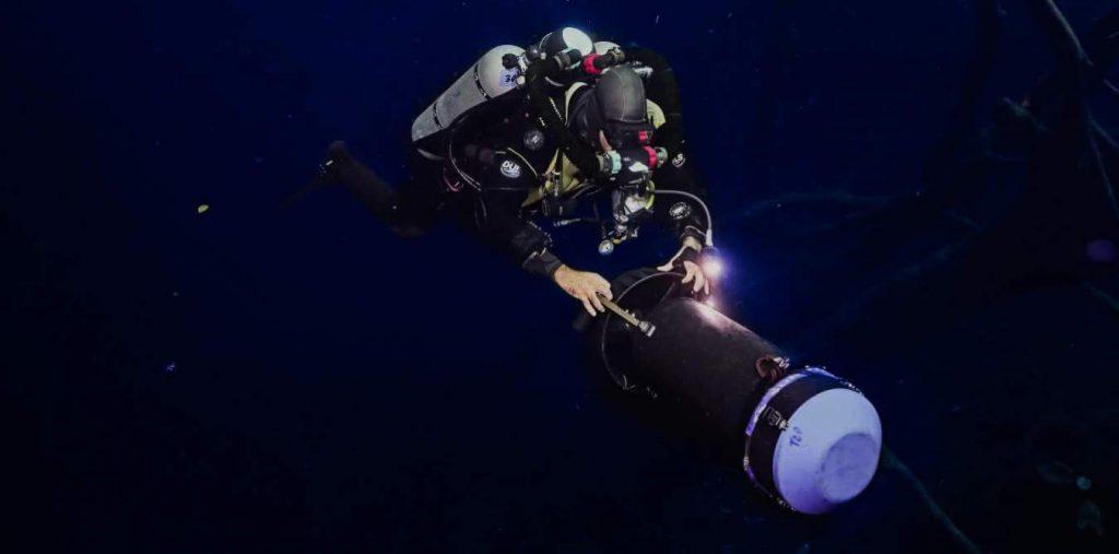 buceo tecnico en el mar profundo