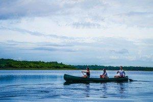 Paseo en canoa punta laguna