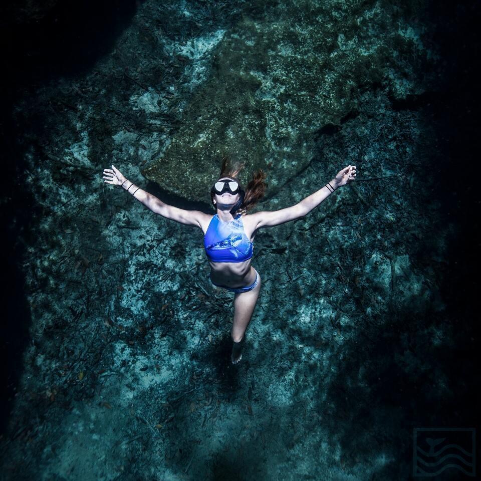 Cenote Snorkeling near Playa Del Carmen