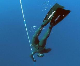 World Free Dive Record