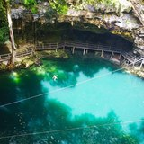 Swim in Cenote Oxman