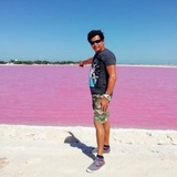Las Coloradas Pink Lakes
