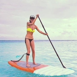 sup paddle board cancun