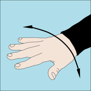 Dive hand signal Not ok