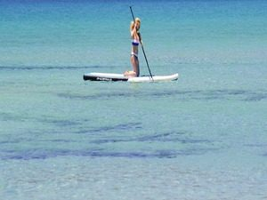 Paddle Boarding near Cancun