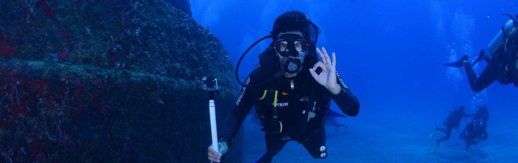Scuba Diver Hand Signal OK