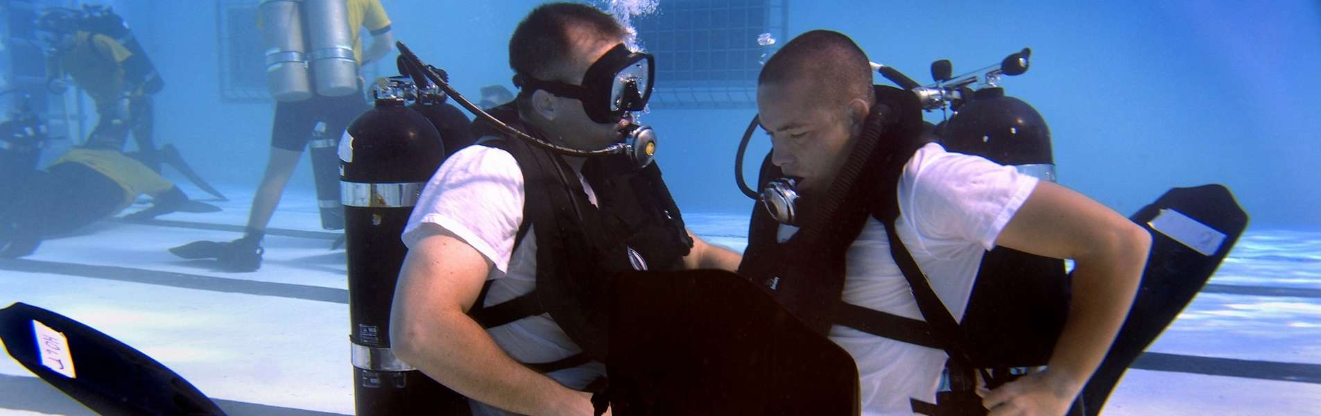 Scuba diving training