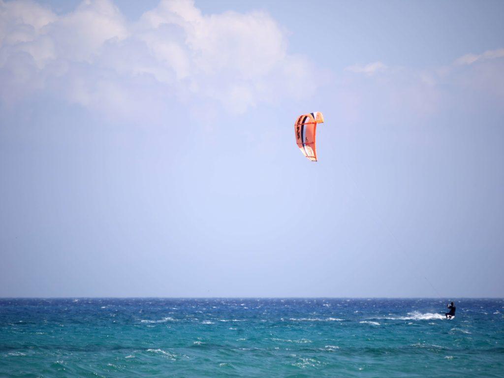 kiteboarding near tulum