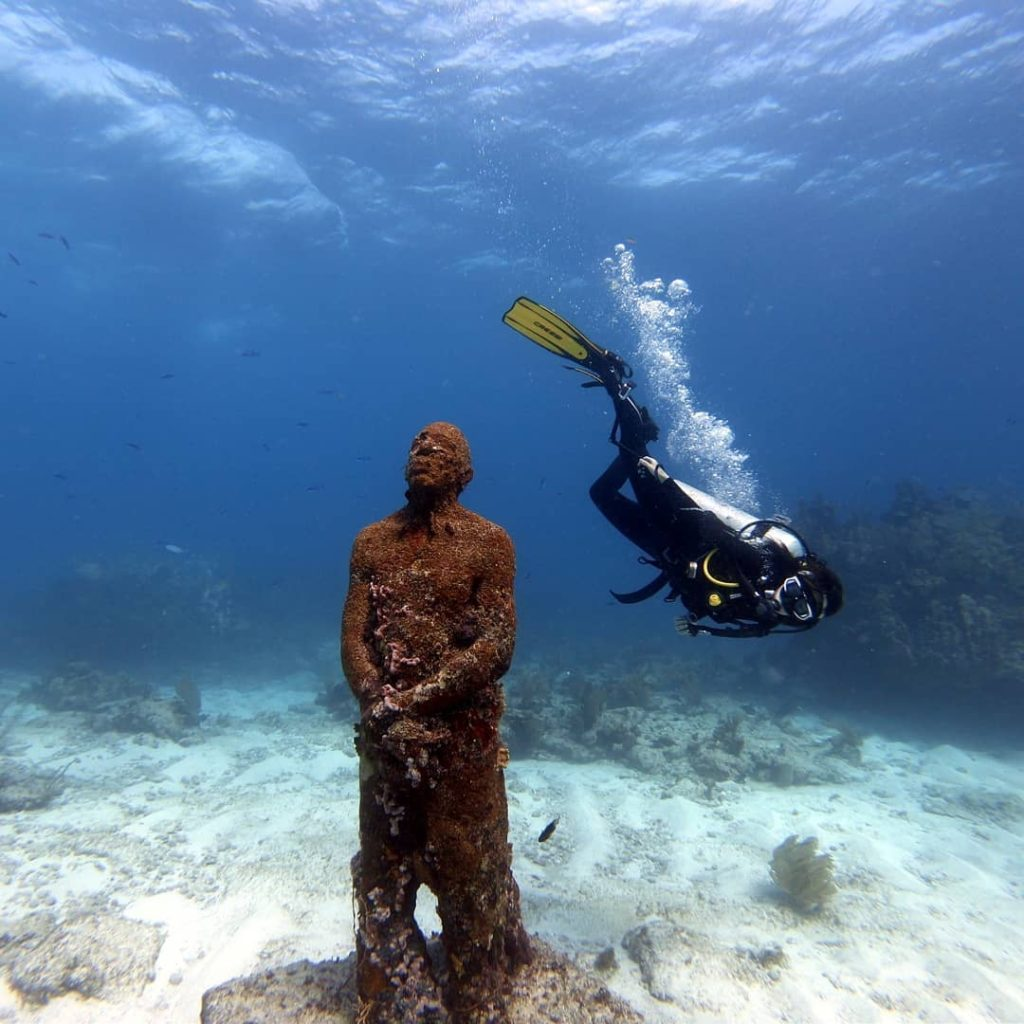 musa cancun museum diving experience